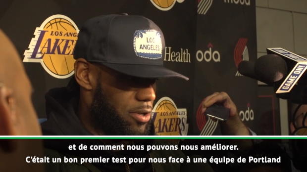 "Basket : Lakers - LeBron - ""Il faut être patient"""