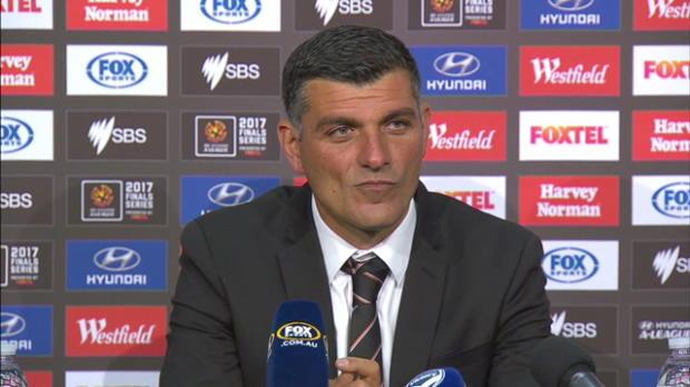 Brisbane Roar semi final press conference