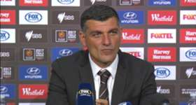 Roar boss John Aloisi admits the better team won in his side's narrow 1-0 loss to Melbourne Victory in their A-League semi final.