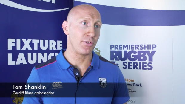 Aviva Premiership - Singha Premiership Rugby 7s preview - Tom Shanklin, Cardiff Blues
