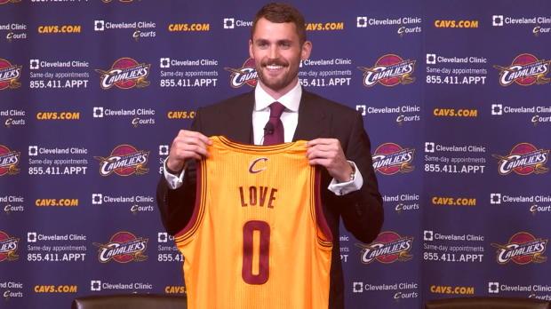 Kevin Love ya es de Cleveland Cavaliers