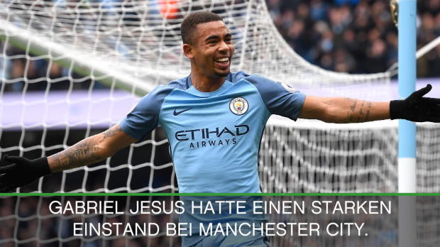 "Guardiola: ""Jesus hat ein enormes Talent"""