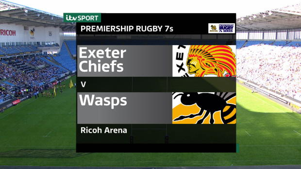 Aviva Premiership - Singha Rugby 7s - Cup Final - Exeter Chiefs v Wasps