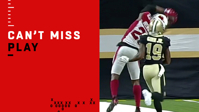 Can't-Miss Play: Benwikere makes insane toe-tap INT