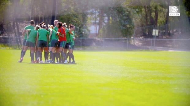 FFA TV | Matildas pumped for farewell clash