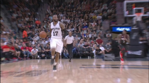 Dunk of the Night - Manu Ginobili