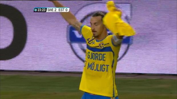 Amical - Zlatan devient le meilleur buteur su�dois