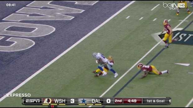 NFL : Cowboys 17-20 Redskins