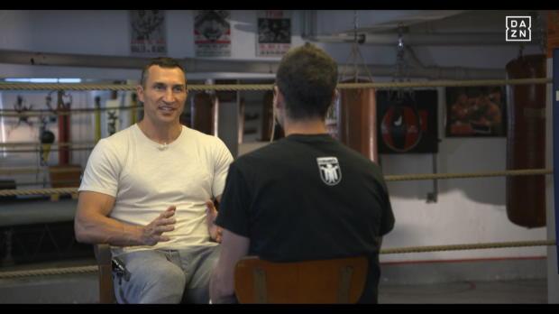 Boxen: Exklusiv! Klitschko im DAZN-Interview