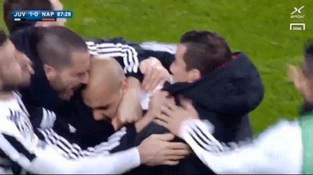 Zaza hämmert Juve zum 15. Sieg in Folge