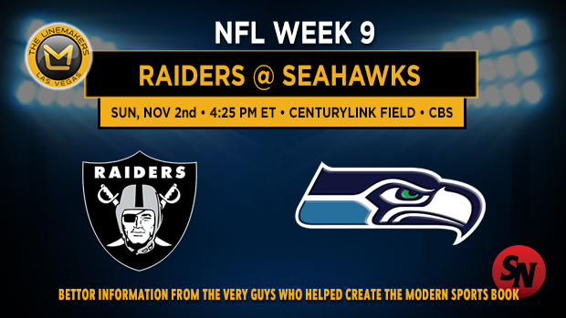 Oakland Raiders @ Seattle Seahawks