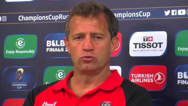 """Rugby : RCT - Galthié - """"On a perdu le contrôle"""""""