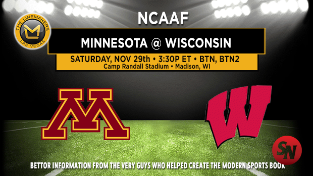 Minnesota Golden Gophers @ Wisconsin Badgers