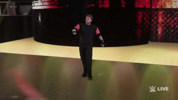 WWE 2K18 Mr. McMahon entrance video