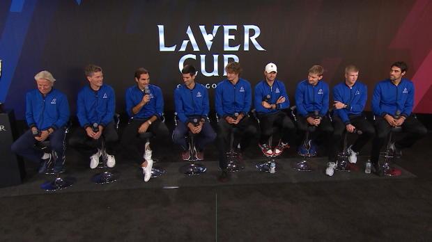 Doppel-Spaß mit Djokovic und Federer