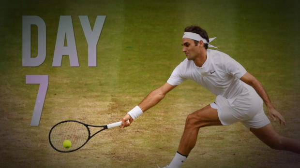 Wimbledon: Tag 7: Nadal und Federer souverän