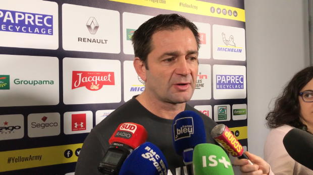 Top 14 - 16e j. : Azéma : ''On a pas de marge''