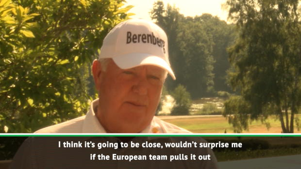O'Meara tips Europeans in tight Ryder Cup