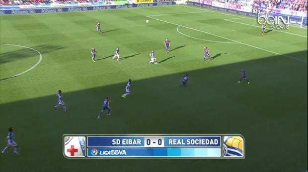 Liga : Eibar 1-0 Real Sociedad