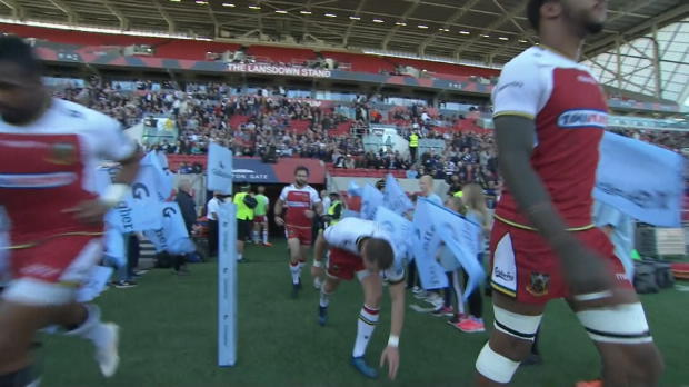 Aviva Premiership : Aviva Premiership - Match Highlights - Bristol Bears v Northampton Saints - Round 5