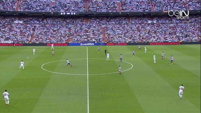 Liga : Real Madrid 1-2 At.Madrid