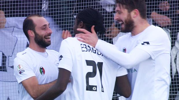 Spezia 3-0 Pescara, Quarto Turno TIM Cup 2013/14