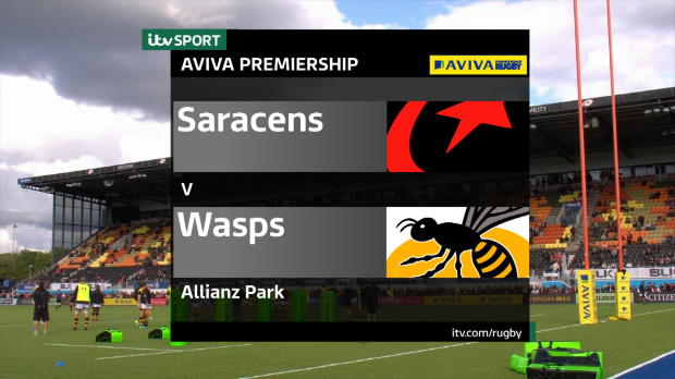 Aviva Premiership - Match Highlights - Saracens v Wasps