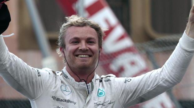 F1 M�naco - Rosberg gana gracias a un error de Mercedes