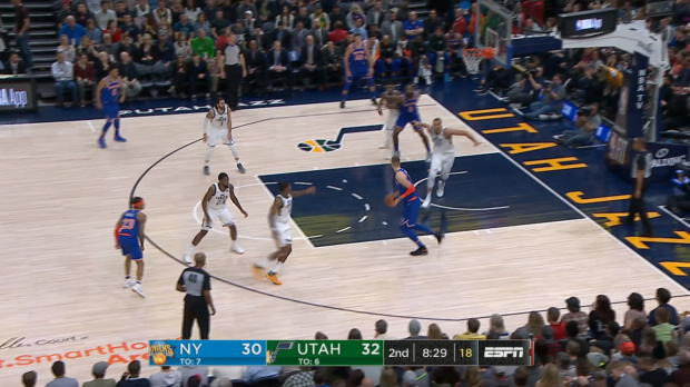 GAME RECAP: Knicks 117, Jazz 115