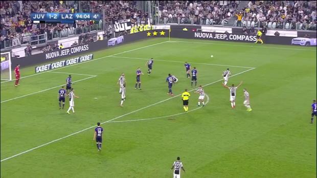 Juve-Lazio: Dybala verballert in 96. Minute