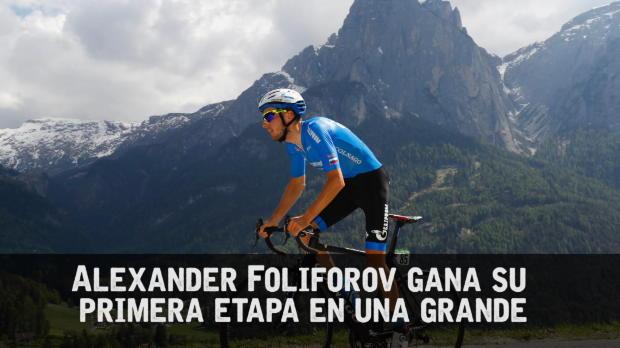 Giro de Italia - Folifonov gana la cronoescalada