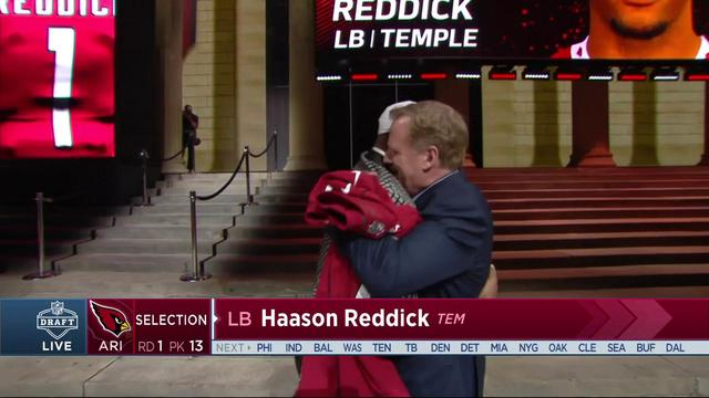 Cardinals select Haason Reddick No. 13 in the 2017 NFL Draft