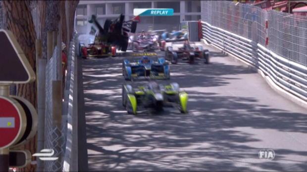Formel E: Massenkarambolage in Monaco