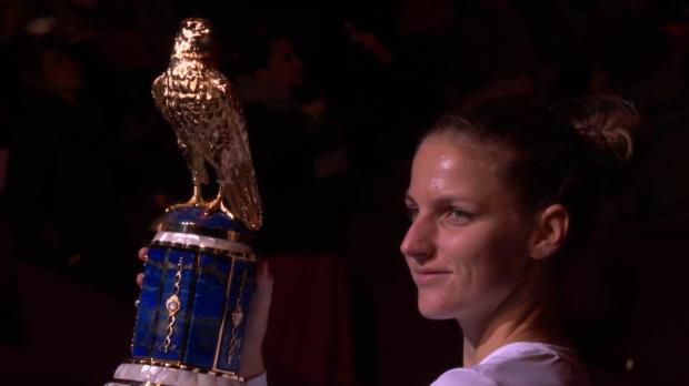 L1 : WTA - Doha - Pliskova s'impose en finale face à Wozniacki