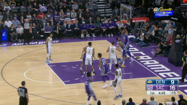Dunk of the Night: Willie Cauley-Stein