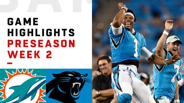 Dolphins vs. Panthers highlights | Preseason Week 2