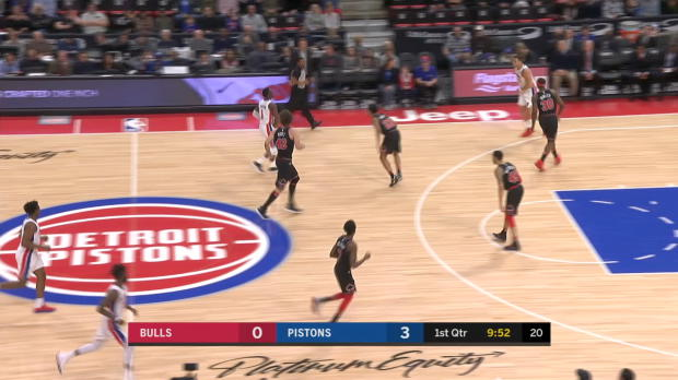 GAME RECAP: Pistons 117, Bulls 95