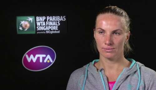 Kuznetsova Interview: WTA Singapore SF
