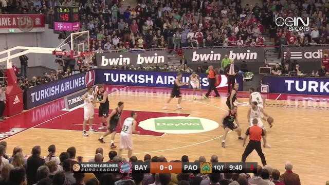 EL : Bayern Munich 81-75 Panathinaïkos