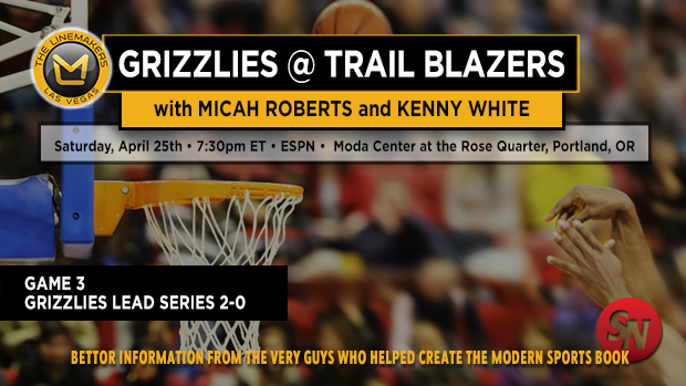 Grizzlies @ Trail Blazers Game 3