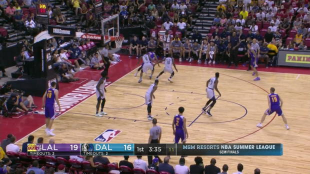 WSC: Highlights: Kyle Kuzma (24 points) vs. the Mavericks, 7/16/2017
