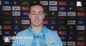 FFA TV | Midfielder Jackson Irvine described the Caltex Socceroos performance against Iraq as a 'mixed bag'.