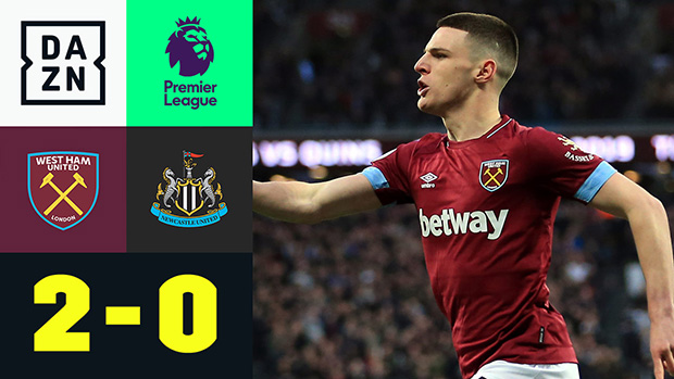 Premier League: West Ham United - Newcastle United   DAZN Highlights
