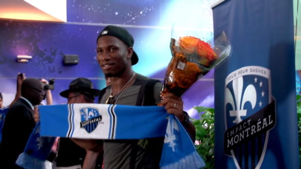 Bad in der Menge: Drogba-Mania in Montreal!