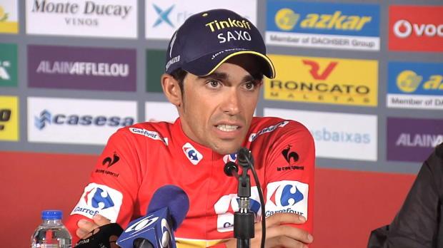 """Vuelta: Contador: """"Erst überlebt, dann attackiert"""""""