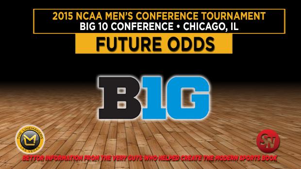 Big 10 Confrence Tournament Futures