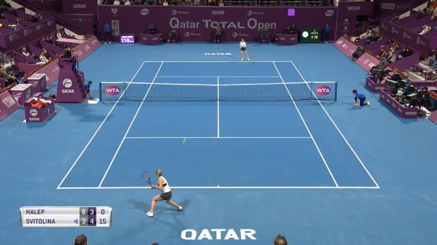 Tennis : Doha - Halep domine Svitolina et rejoint la finale