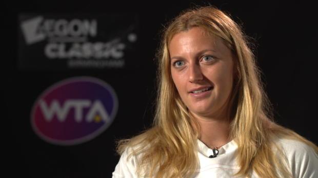 Birmingham: Kvitova freut sich auf Wimbledon