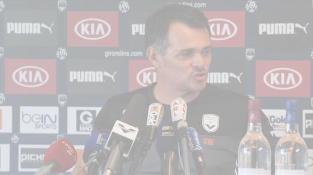 Girondins - Sagnol : 'Ambitieux, mais r�aliste'