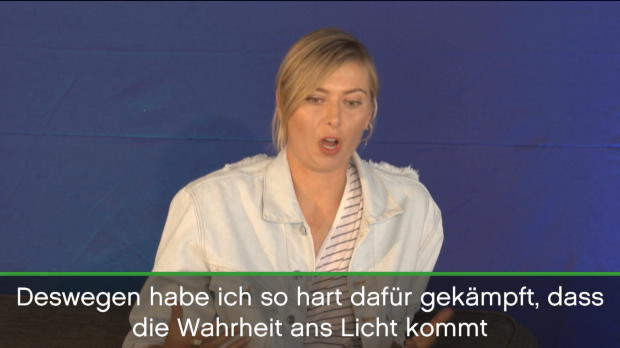Stuttgart: Sharapova bereit für das Comeback